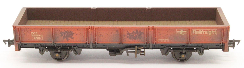 31 Tonne OCA Dropside Open Wagon Railfreight Red - Weathered