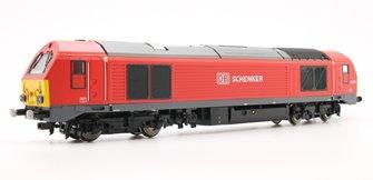 DB Schenker '67013' Class 67