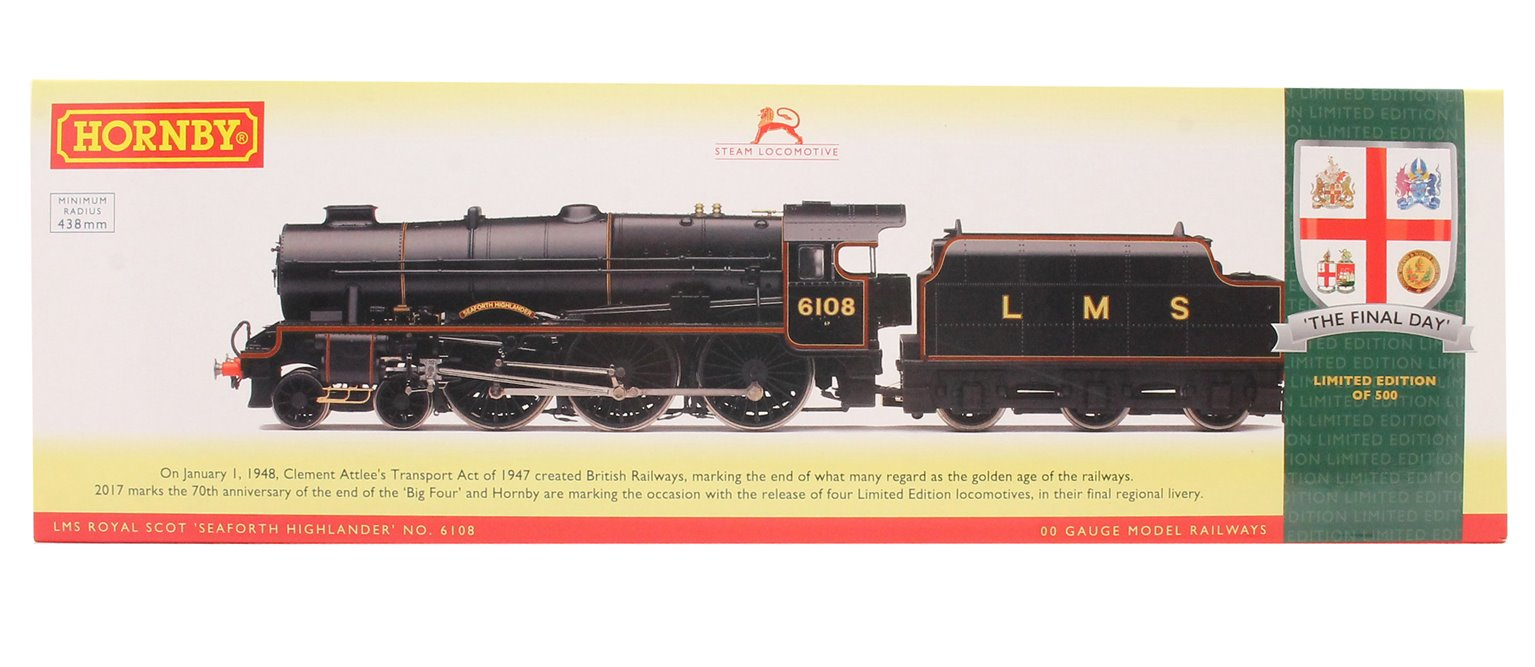 The Final Day - LMS 4-6-0 'Seaforth Highlander' Royal Scot Class