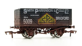 "Dapol 4F-080-113 8 Plank open wagon ""SPC"" - 5009 Weathered"