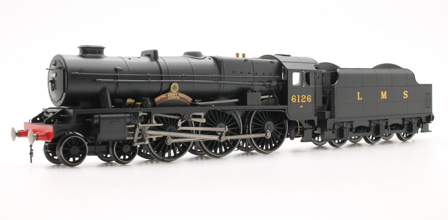 LMS 4-6-0 'Royal Army Service Corps' '6126' Royal Scot Class