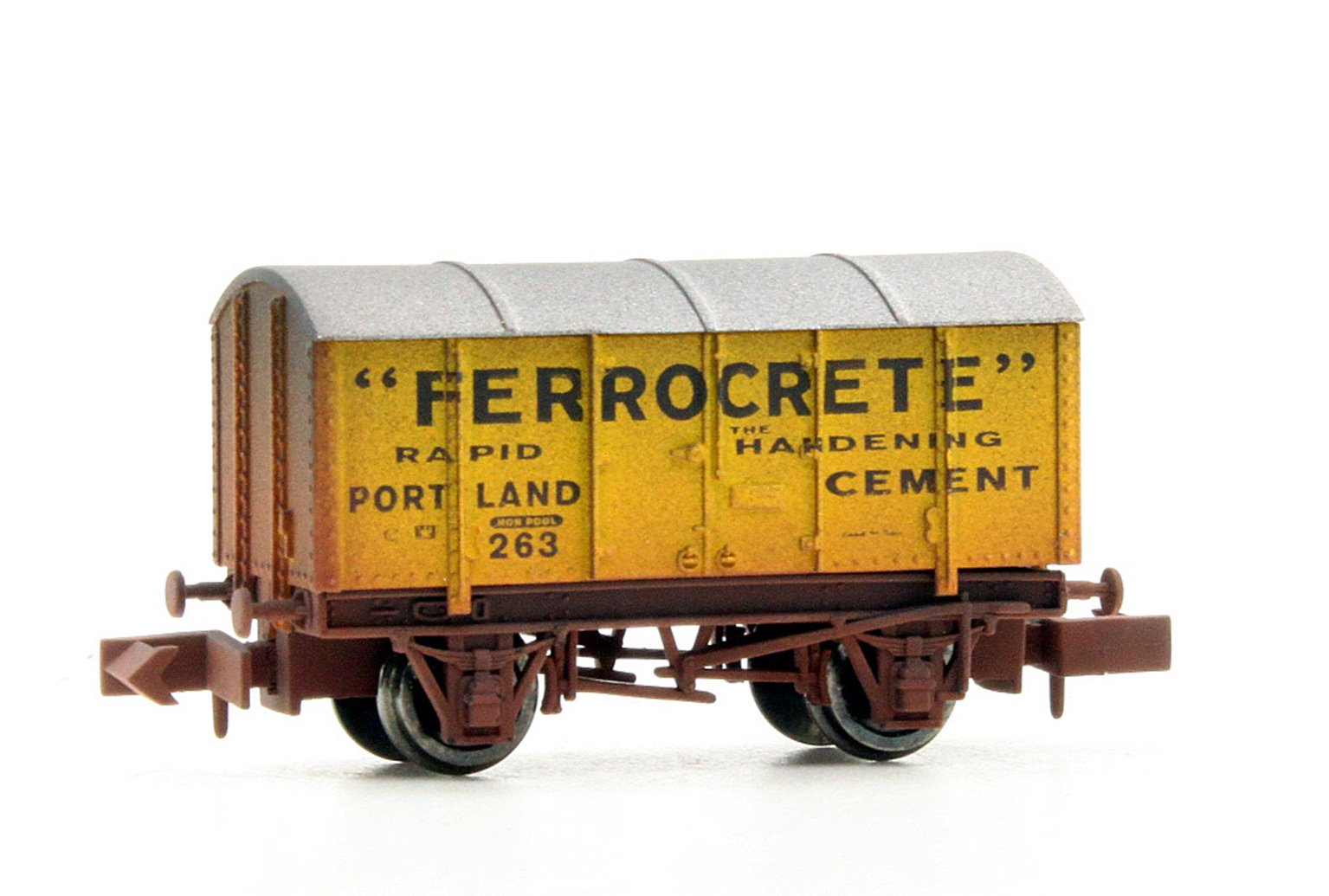 Gunpowder Van Ferrocrete 263 Weathered