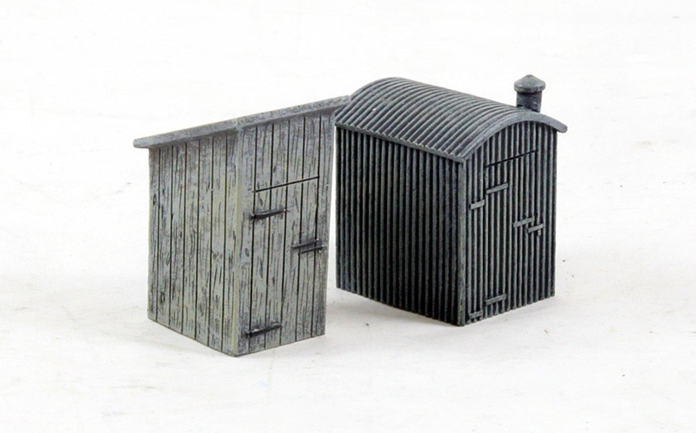Hornby Skaledale Lineside Lamp Huts (2 Pack)