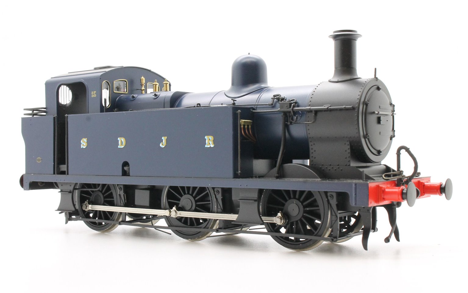 Class 3F 'Jinty' 0-6-0T in S&DJR Prussian Blue	- Unnumbered