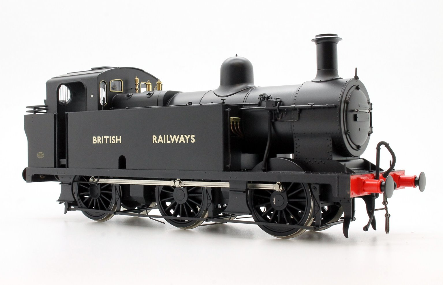 Class 3F 'Jinty' 0-6-0T in BR Black with 'BRITISH RAILWAYS' Lettering - Unnumbered