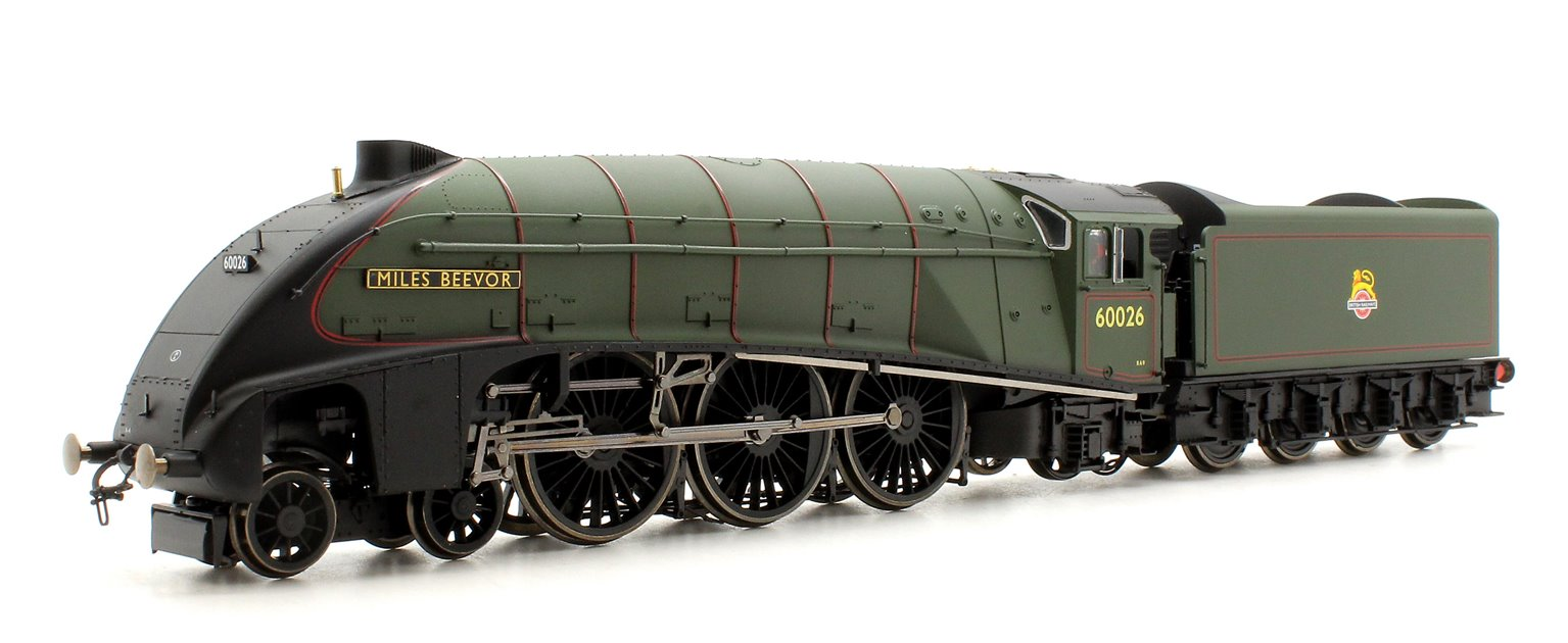 BR Green (Early) 'Miles Beevor' Class A4 4-6-2 Steam Locomotive No.60026