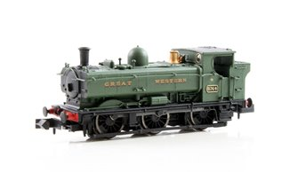 Class 57xx Pannier 0-6-0 #5764 in Great Western green - DCC