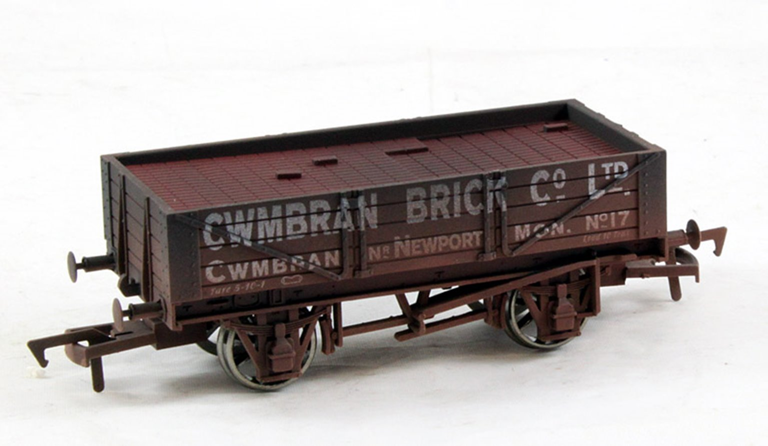 Dapol 4 Plank Wagon CWMBRAN Weathered