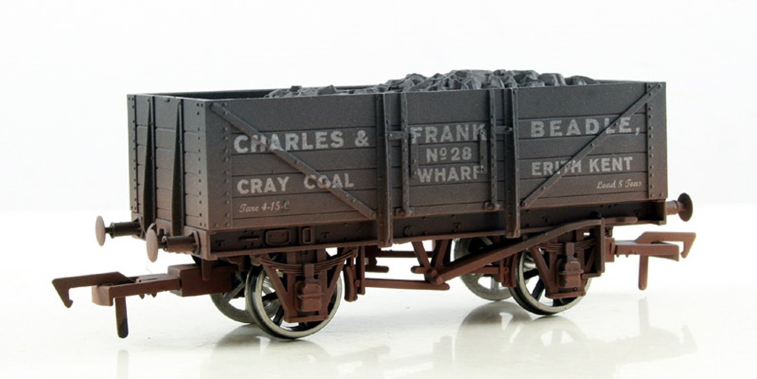 Beadle 5 Plank Wagon - Weathered
