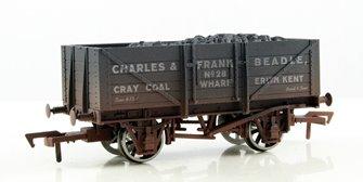 Beadle 5 Plank Wagon - Weathered