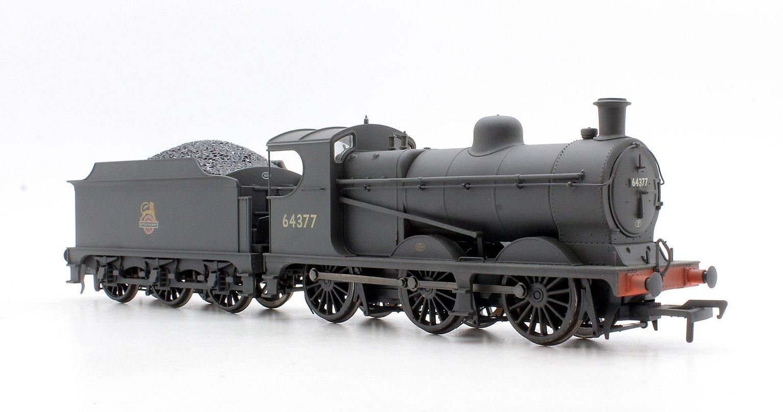 Robinson Class J11 (GCR 9J) 64377 BR Early Emblem DCC Sound & Weathered