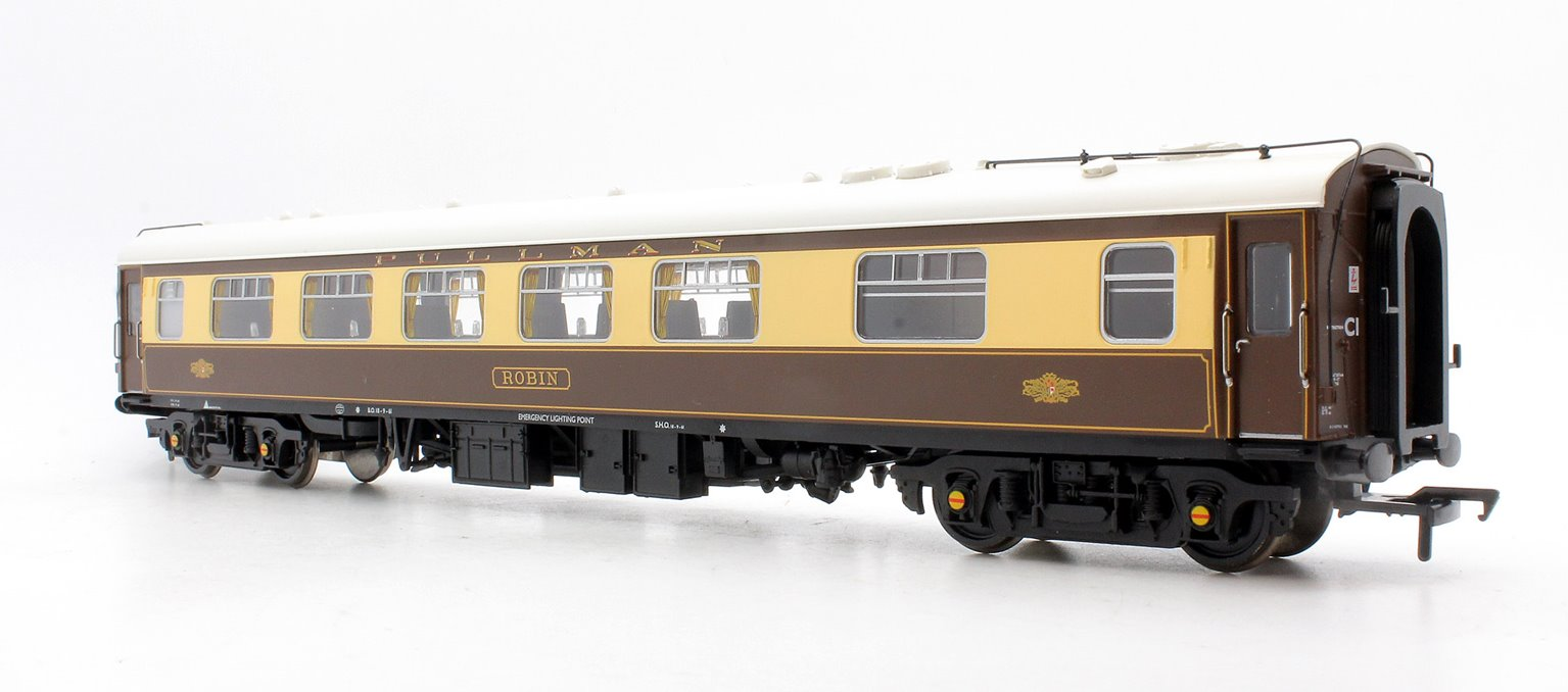 BR MK1 FK Pullman First Kitchen Umber & Cream 'Robin' (White Roof with lighting)