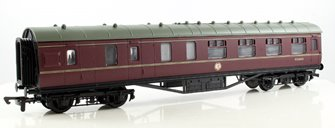 57ft Stanier Corridor Brake Coach BR Lined Maroon #M5644M