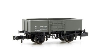 13 Ton High Sided Steel Wagon with Wooden Door LNER Grey