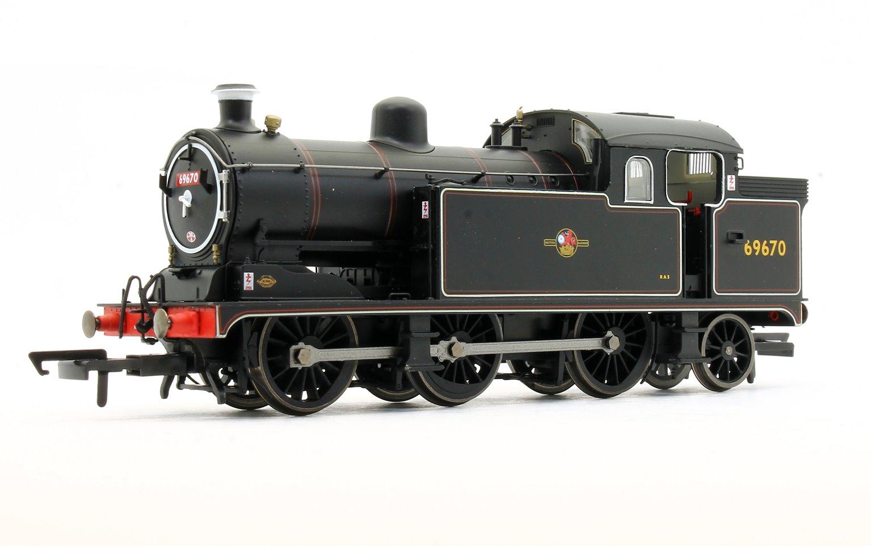 Class N7 BR Black Late Crest 0-6-2 Tank Locomotive No.69670