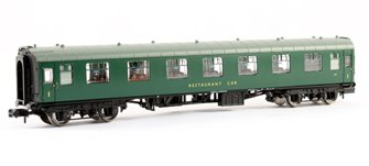 BR Mk1 RFO Restaurant Car (SR) Green
