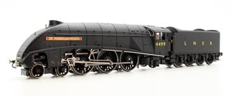 LNER 4-6-2 'Sir Murrough Wilson' A4 Class Wartime Black Locomotive 4499