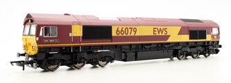 Co-Co Diesel 'James Nightall GC' '66079' EWS Class 66 Locomotive