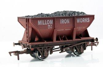 Millom Iron Works 24 Ton Steel Ore Hopper Wagon - Weathered