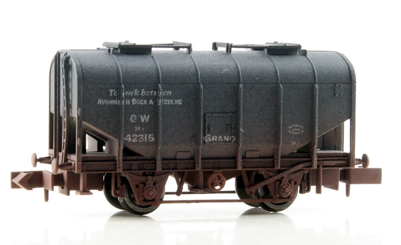 Dapol 2F-036-020 Bulk Grain Hopper - GWR Avonmouth - Weathered