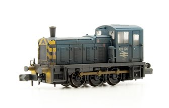 Class 03 03170 BR Blue Wasp Stripes & Air Tanks Weathered