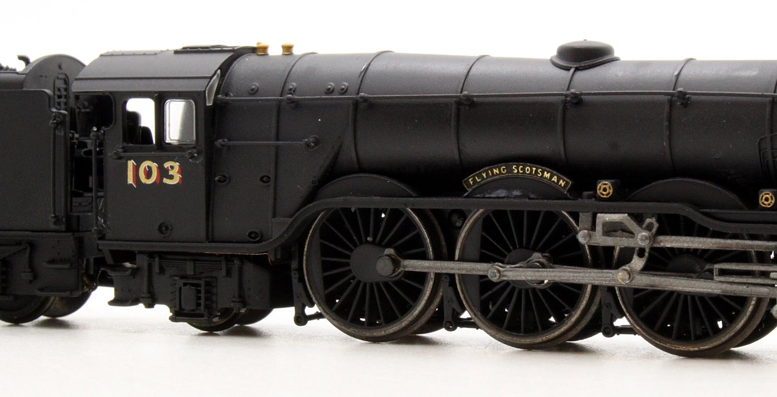 A1 Flying Scotsman 103 Wartime Black NE