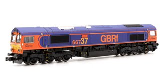 Class 66 66737 Lesia GB Railfreight - DCC Fitted