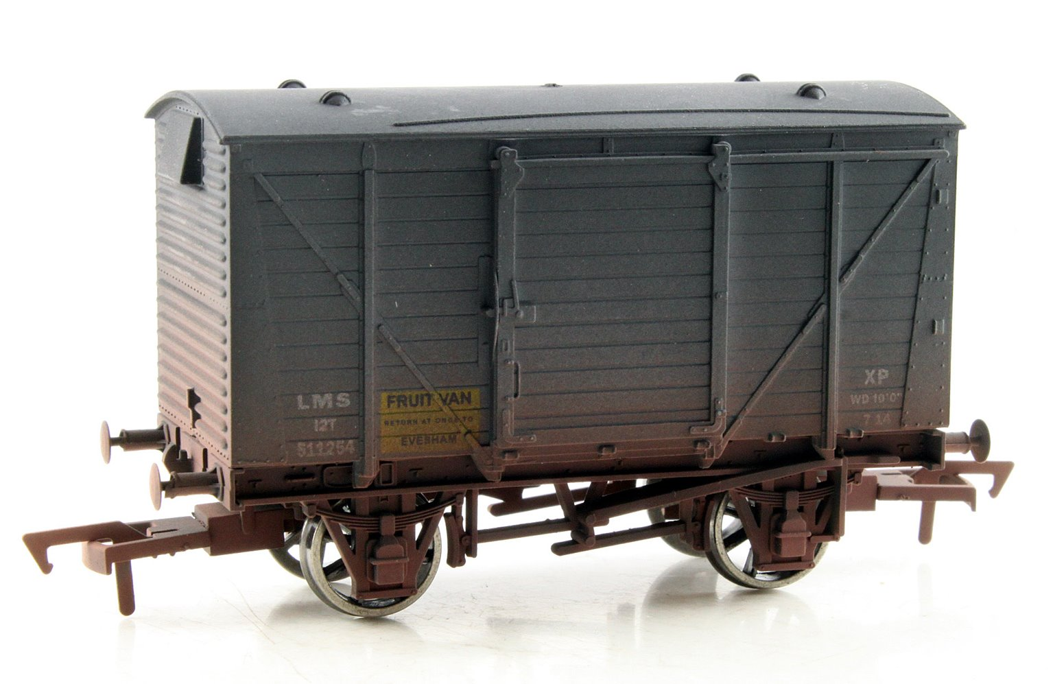 Ventilated Van LMS Fruit Van 511254 Weathered