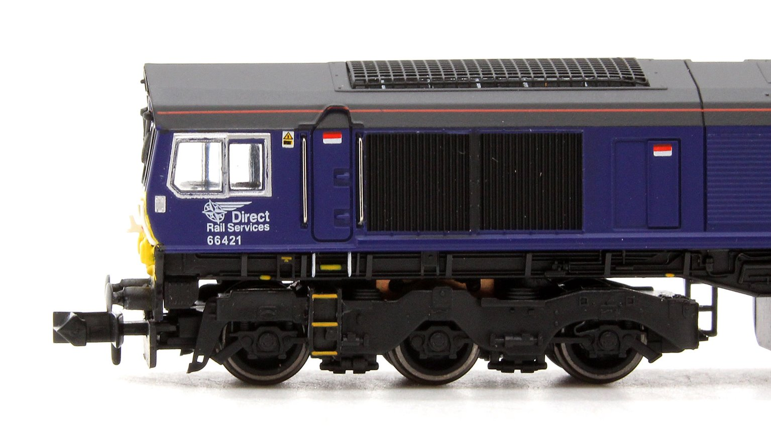 Class 66 66421 New DRS Livery