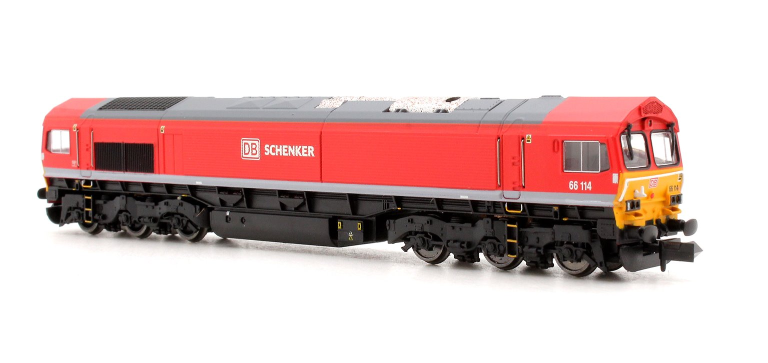 Class 66 66114 DB Schenker Red - DCC Fitted