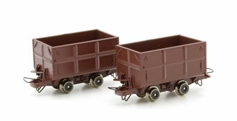 Mine Side Tipping Wagon 2 Car Set
