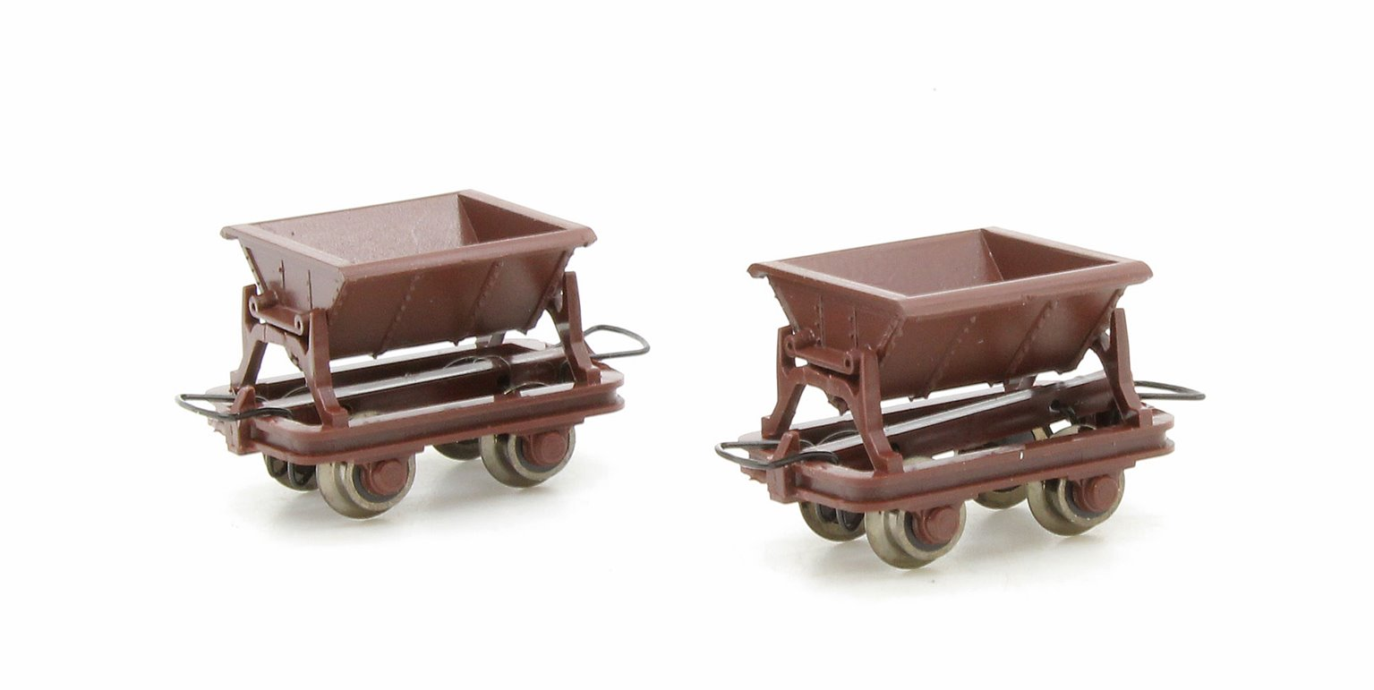 Side Tipping Wagon 2 Car Set