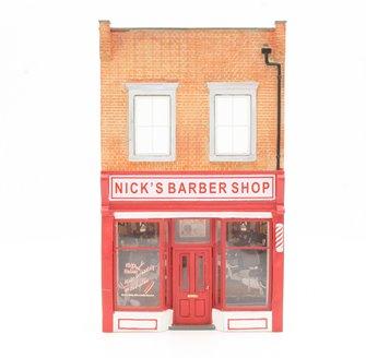 "Low Relief ""Nicks Barbers"""