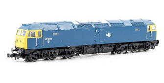 N Scale Class 47/0 47096 BR Blue