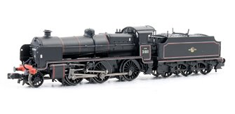 N Class 2-6-0 #31811 BR Black Late Crest