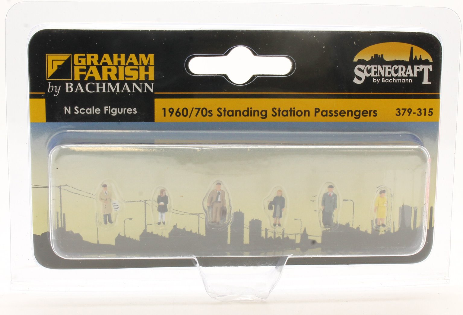 Figures 1960/70s Standing Station Passengers