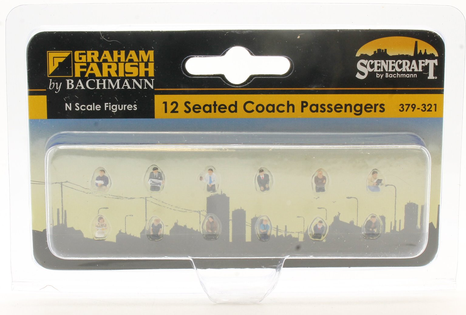 Figures 12 Seated Coach Passengers