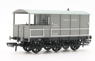 Toad Brake Van - BR 6 Wheel Plated Bordesley Junction