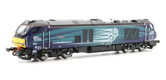 Class 68 Evolution 68001 DRS Livery