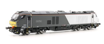 "Class 68 010 ""Oxford Flier"" Chiltern livery Diesel Locomotive"