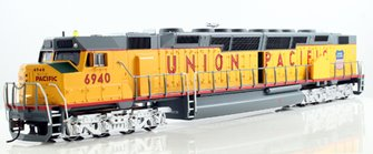 Union Pacific EMD DD40AX Centennial Diesel Locomotive #6970 - DCC Sound