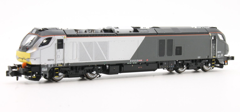 Class 68 014 Chiltern livery Diesel Locomotive