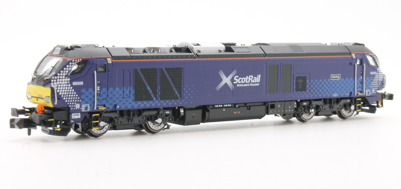"Class 68 006 ""Daring"" Scotrail livery Diesel Locomotive"