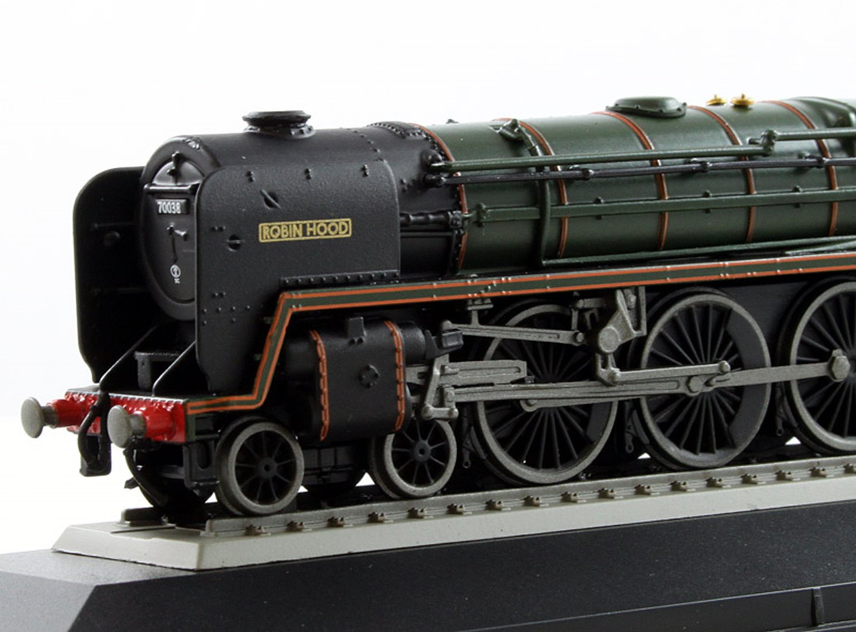 BR 4-6-2 Britannia Class 'Robin Hood' 70038 Locomotive (Static Diecast Model)