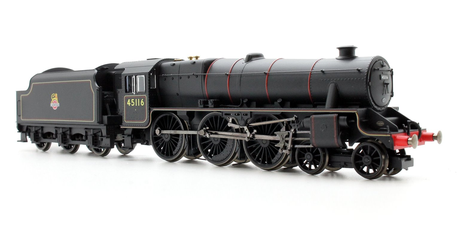 BR 4-6-0 '45116' 'Black 5' Class 5MT with TTS Sound