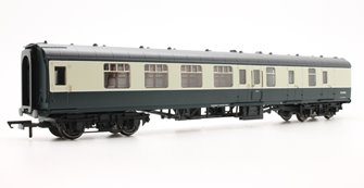 BR Mk1 Coach Corridor Brake 2nd Class 'W35024', Blue & Grey Livery