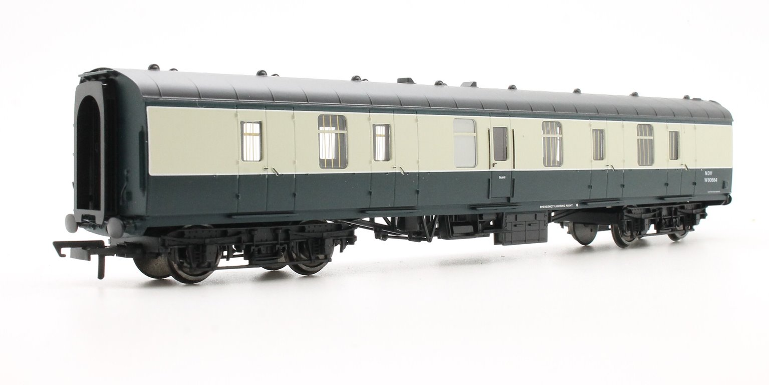 BR Mk1 Parcels Coach 'W80664', Blue & Grey Livery