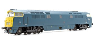 Class 52 'Western Cavalier' D1021 BR Blue with Full Yellow Panel