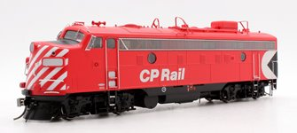 "GMDD FP9A CP Rail Action Red 8"" Stripes (Unnumbered) Diesel Locomotive DCC/SOUND"