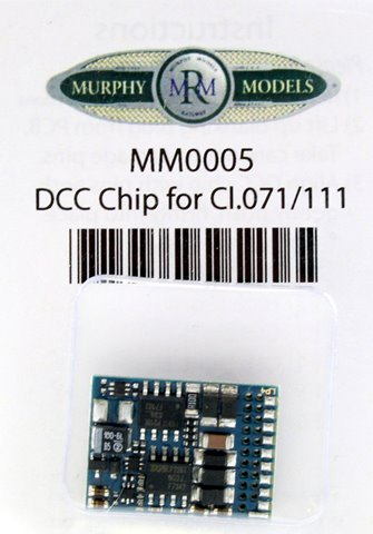 Murphy Models MM0005 DCC Chip for Class.071/111 Locomotive